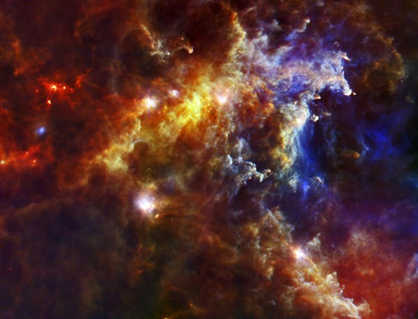 Rosette Nebula Nursery Picture Star Formation Colors Scale of Universe Weekly Show